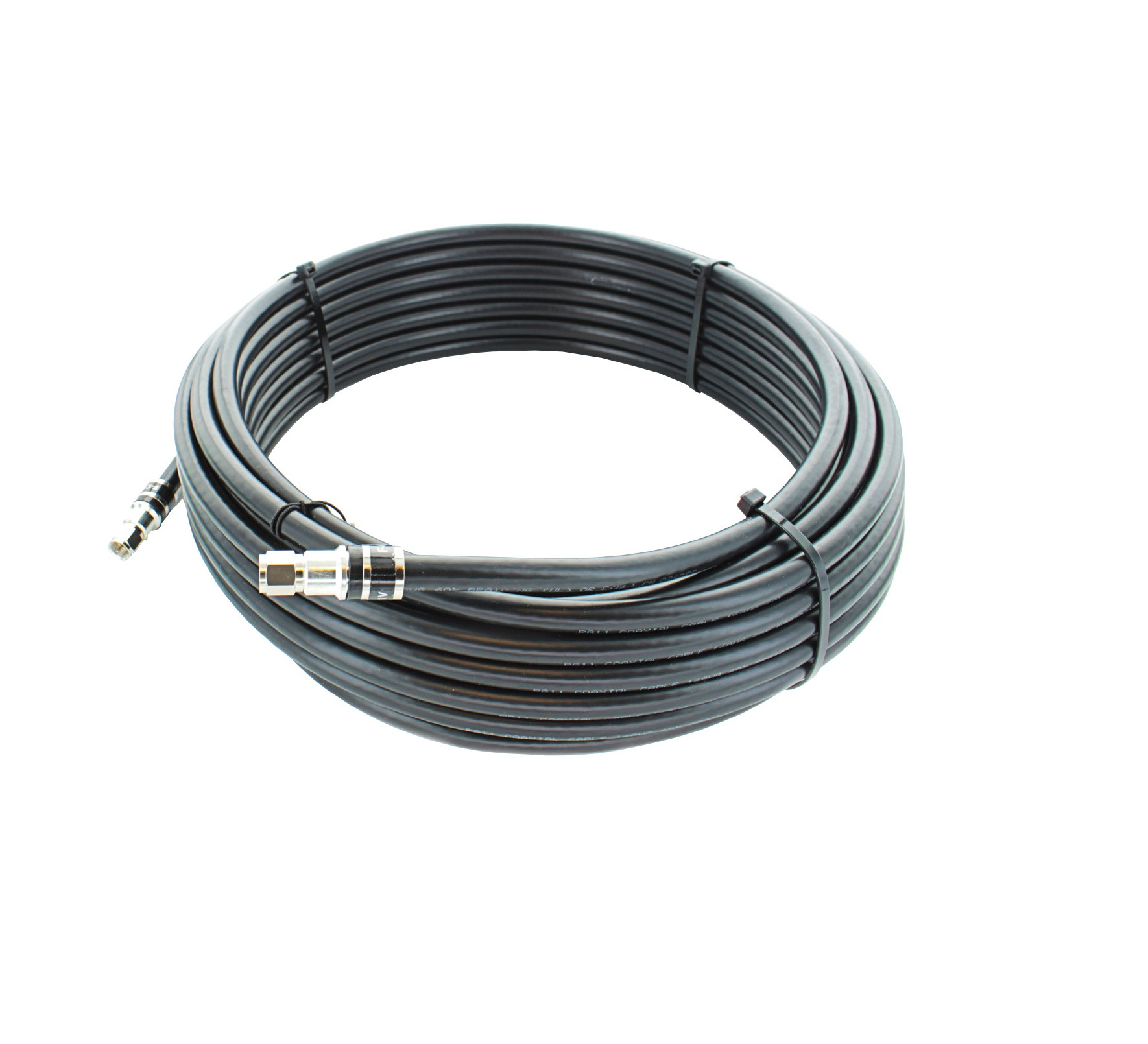 100 Feet Rg11 Cable With F Connectors F Male To F Male